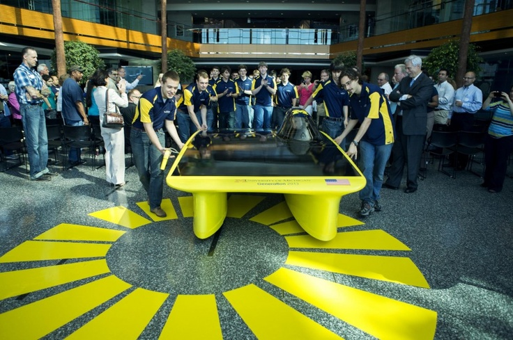 The University of Michigan Solar Car Team