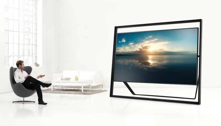 "TV Samsung de 85"" custa US$ 40 mil"