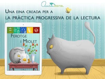 Ensenya'm a llegir. Ferotge i miolet. App's per a nens. #sortirambnens