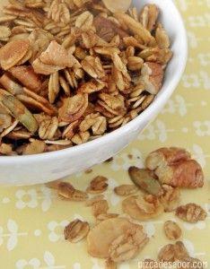 Mi granola favorita – Pizca de Sabor