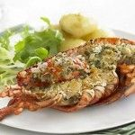 Personally I like to use minimum ingredients for lobster thermidor ( a normal in French cooking unlike Asian cuisine) so as to not to overpower the rich flavor of lobster by using excessive ingredients. Here is my favorite Continental (French) sea food...