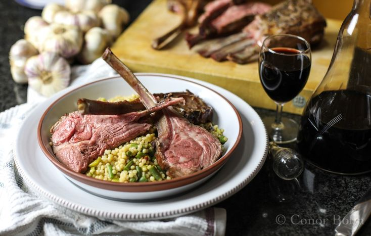 Lamb tomahawk sous vide | One Man's Meat