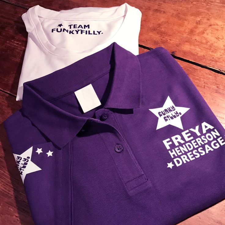 Funky Filly POLO SHIRT Personalised - Poloshirts