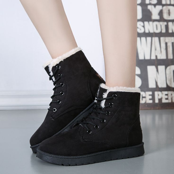 $21.74 (Buy here: https://alitems.com/g/1e8d114494ebda23ff8b16525dc3e8/?i=5&ulp=https%3A%2F%2Fwww.aliexpress.com%2Fitem%2FFashion-winter-warm-ankle-Boots-2016-new-arrival-Solid-color-flat-women-boots-Women-snow-Boots%2F32731220401.html ) Fashion winter warm ankle Boots 2016 new arrival Solid color flat women boots Women snow Boots for just $21.74