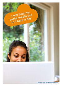 I will limit Facebook to 1 hour everyday @BupaAustralia #health #pledge #Facebookaddict #socialmediaaddict
