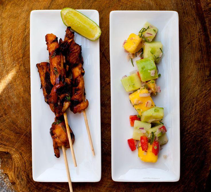 Kycklingsatay med indonesisk gurksallad | Mat & Vänner