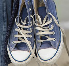 Sneakers can look grimy pretty quickly. If you don't want to toss your Chuck Taylors into the wash, here's what to do…