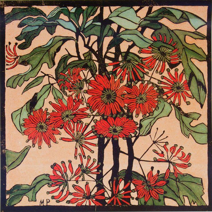 MARGARET PRESTON - WHEELFLOWER - ART GALLERY OF NEW SOUTH WALES in Art, Prints | eBay