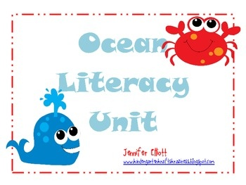 Free Ocean Literacy Activities. Love the fishy words to unscramble and the fishy sentences to put in order!