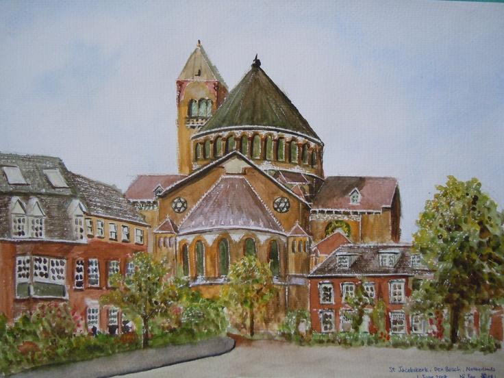 St Jacobskerk, Den Bosch, Netherlands, June 2008 © Ni Yan