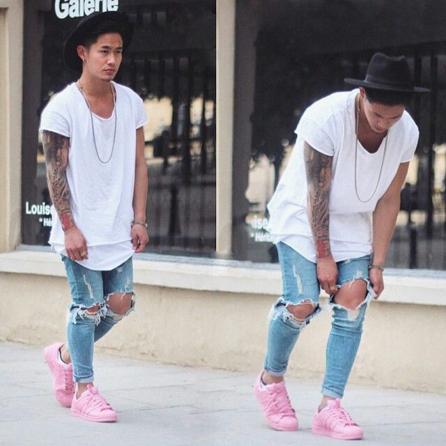 Mens street style from Jaii'C Tan