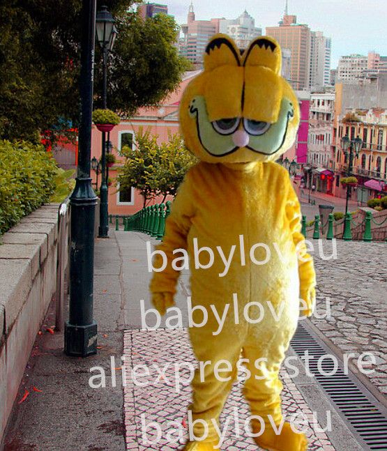 >> Click to Buy << New Garfield cat mascot costume fancy costume bugs bunny dragon mascotte cooling fancy dress carnival costume #Affiliate