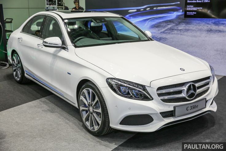 Mercedes-Benz Malaysia has introduced its latest W205 Mercedes-Benz C-Class variant, the C 350 e plug-in hybrid, in the country. The locally-assembled car