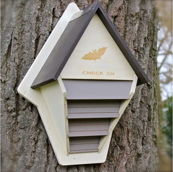 Fledermauskasten Bauanleitung für Fledermauskasten zum selber bauen-Vogel- und Naturschutzprodukte einfach online kaufen
