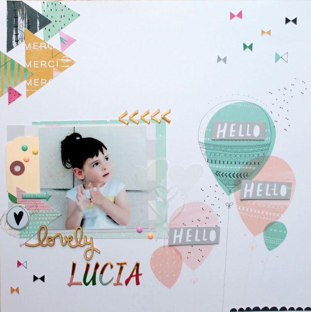 My Sweet Things: LAYOUT | Pinkfresh & Lucía