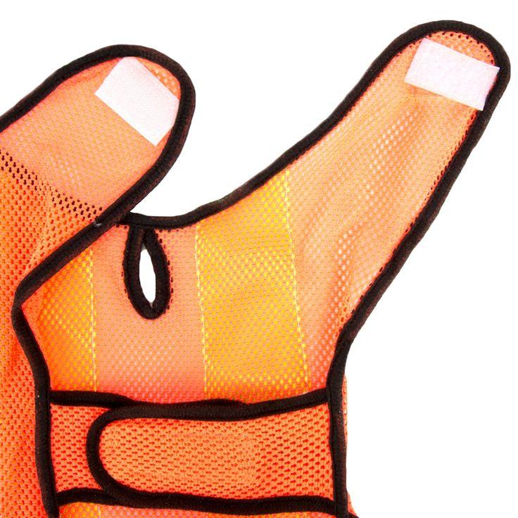 Cuecue pet reflective mesh pet safety visibility vest