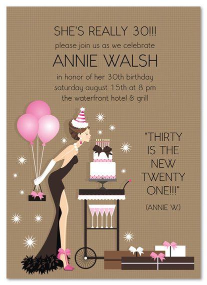 Ladies Birthday Invitations Birthday Blowout Party