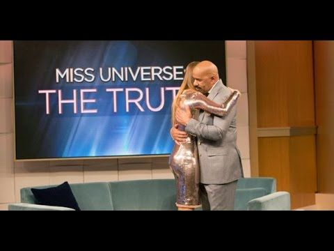 Steve Harvey entrevista a Ariadna Gutierrez (Miss Colombia) - FULL VIDEO...