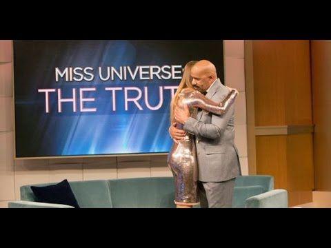 Steve Harvey entrevista a Ariadna Gutierrez (Miss Colombia) - FULL VIDEO...