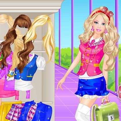 Barbie studenta