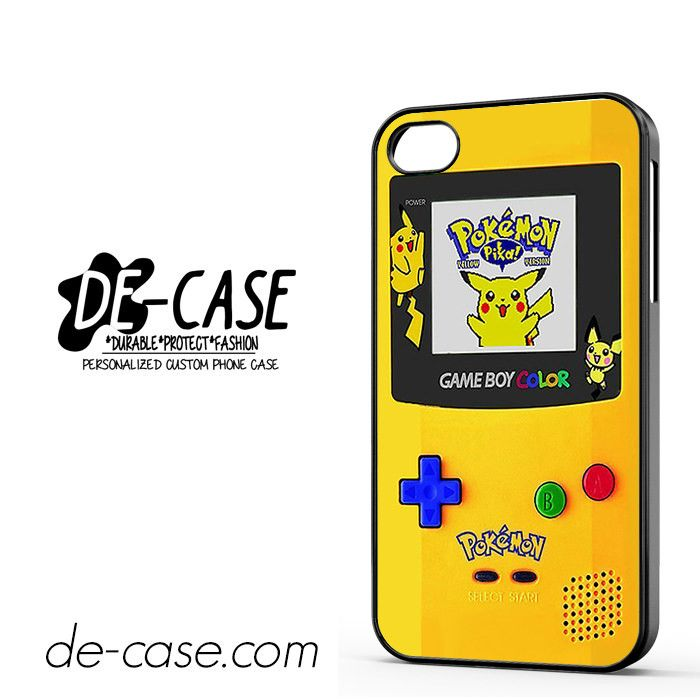 Gameboy Color Pokemon Edition DEAL-4597 Apple Phonecase Cover For Iphone 4 / Iphone 4S