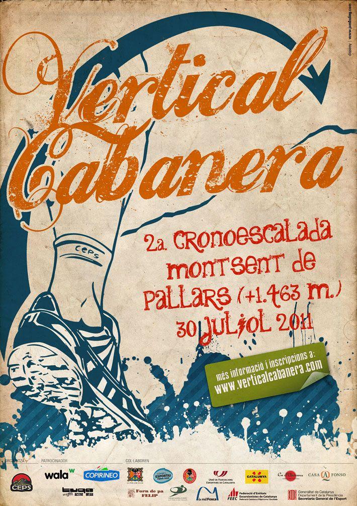 Cartell Vertical Cabanera 2011