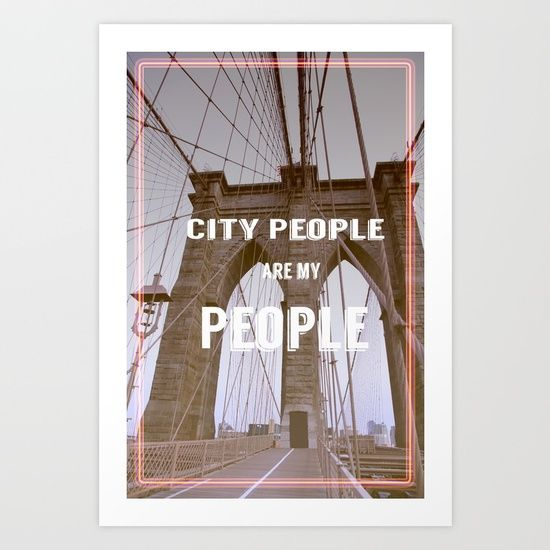 Fly the flag of all city people. Collect your choice of gallery quality Giclée, or fine art prints custom trimmed by hand in a variety of sizes with a white border for framing.