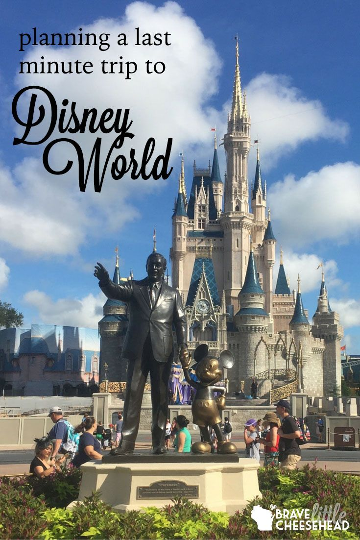 As it happens, most people don't plan a last minute trip to the happiest place on earth. But if you find yourself in a predicament like me, and not like most people, you can use this guide to make sure your trip to Disney World is as magical as ever.