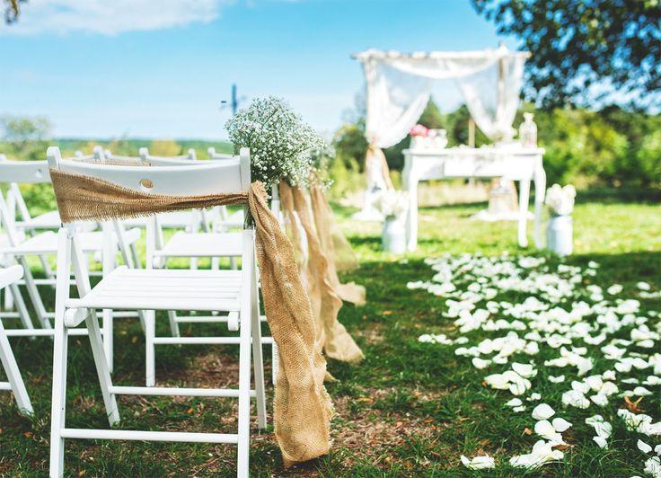 Přírodní církevní svatba inspirována rustikálním stylem - Originální Svatba