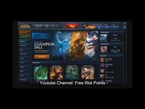 Are you interested in free riot points? If so, this riot points generator is definitely for you!