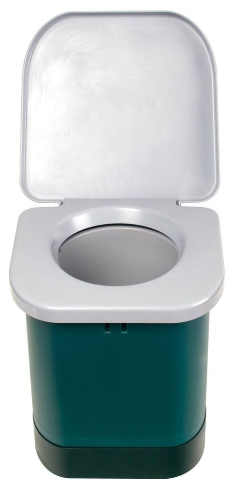 Portable Camping Toilet Outside Potty Bathroom Boating Fishing Hunting Woods New