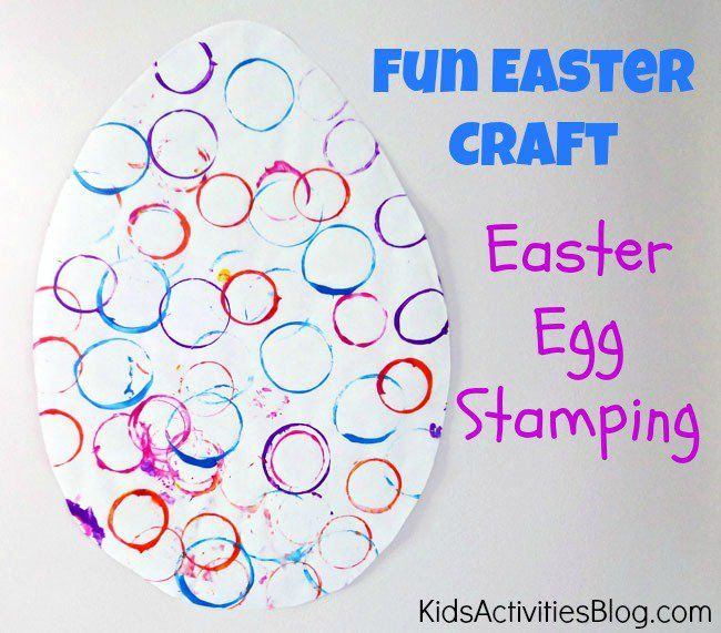 Make an Easter Egg {Fun Easter Craft for Preschool}