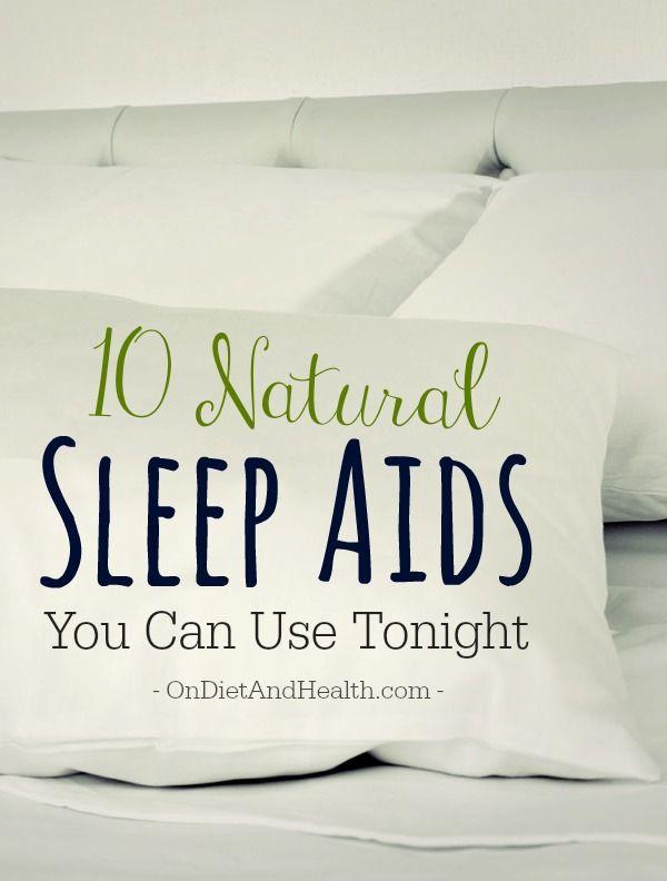 10 all-natural sleep aids you can use tonight // OnDietAndHealth.com #sleep #insomnia #natural