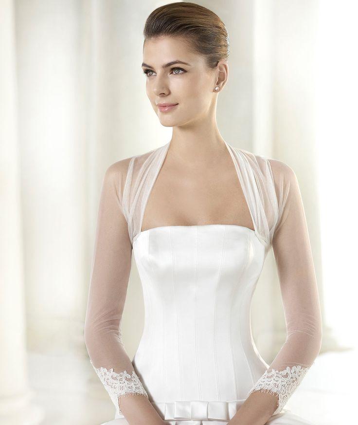Presents Its Chaqueta La  Bridal Jacket Bridal Bolerowedding Bolerowedding Veilbridal Jacketsbridal Dresseslace