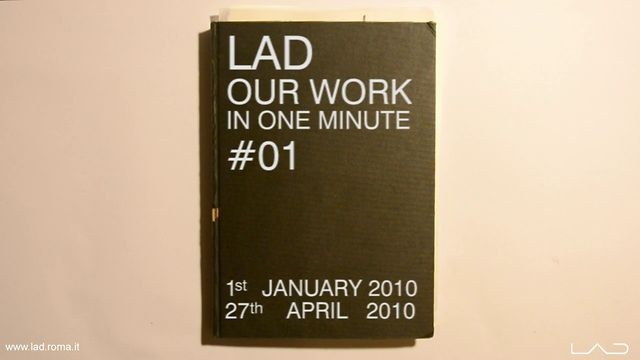LAD OUR WORK IN ONE MINUTE #1   FRANCESCO NAPOLITANO'S SKETCHBOOK