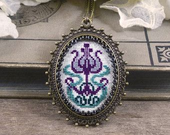 Handmade cross stitch – Etsy
