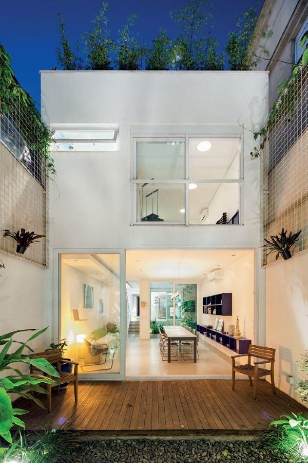 Belleza & Batalha Arquitetos Associados projeta sobrado em exíguo lote urbano de São Paulo :: aU - Arquitetura e Urbanismo