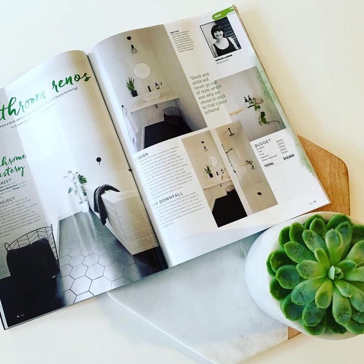 The team at Meir are excited to be featured in this month's edition of Your Home & Garden Magazine, featuring five amazing bathroom renovation designs including this very contemporary home by @chelseawarburton. Focusing on a monochrome theme, Chelsea has utilised our matte black tapware against white tiles to create a statement.  #Meir #Meirblack #Meiraustralia #Blacktapware #Matteblacktapware #Matteblacktapwear #yourhomeandgarden #interiorinspo #architecturaldesign #myhomestyle #homestyling…