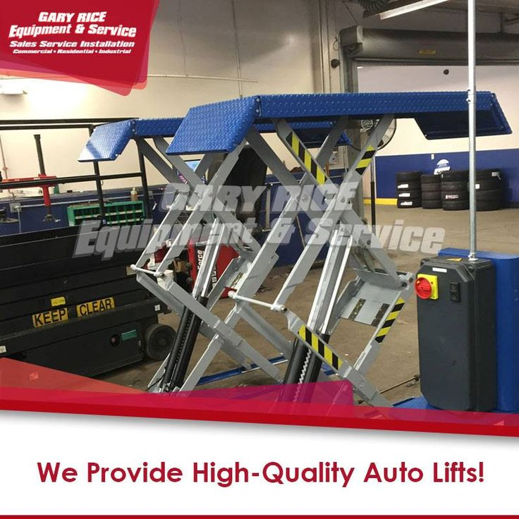 Whether you're expanding your shop or starting a home garage, you need the right auto lifts. We repair & install #autolifts of all sizes.