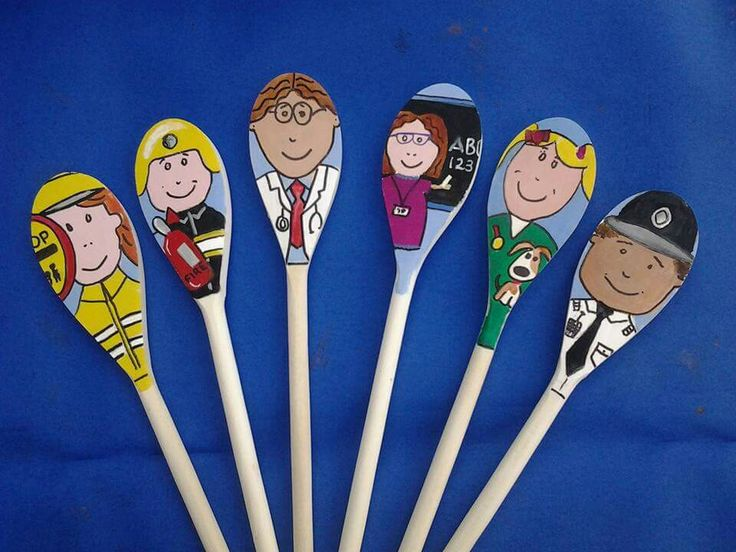 Story spoons - people who help us