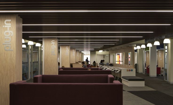 Spectator Seating above Foyer, change rooms and corridor 65 beam | KLIK Systems
