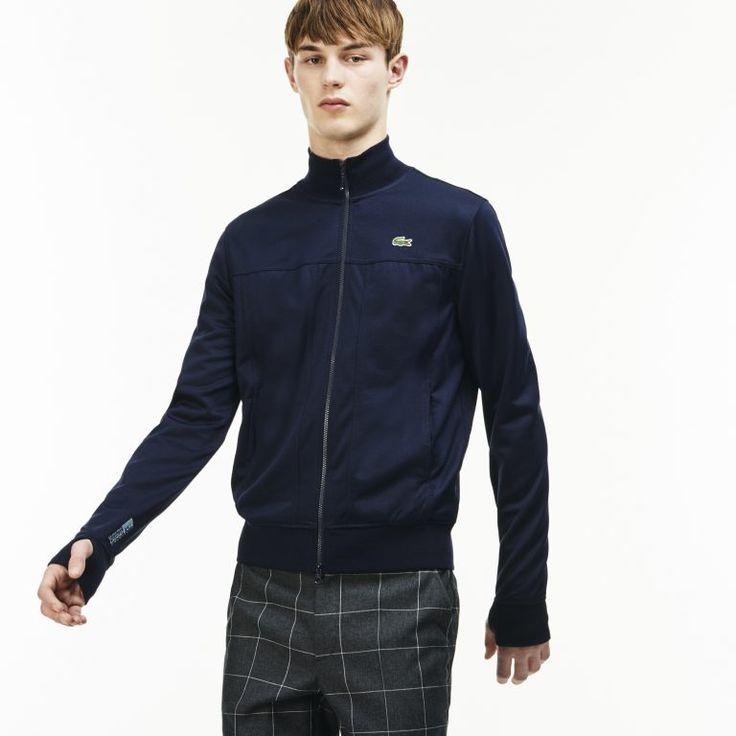 Lacoste Zip Cotton Sweatshirt