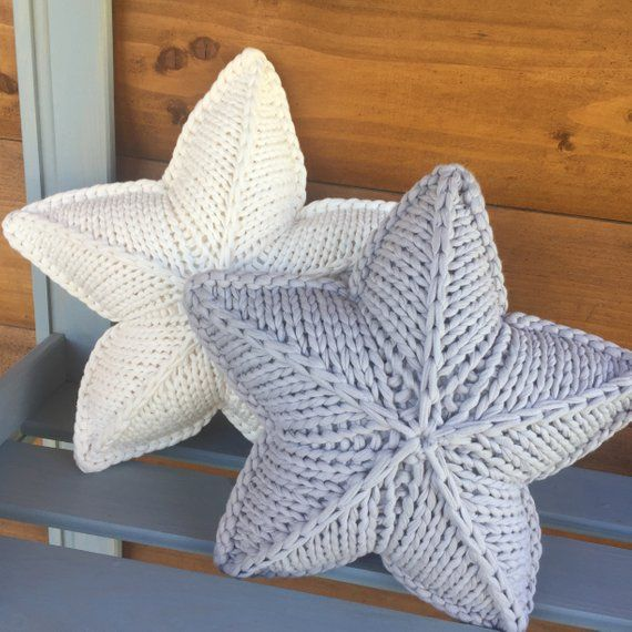 Star Crochet Cushion Star Knitted Pillow Crochet Star Etsy With Images Crochet Pillow Pattern Crochet Pillow Pillow Pattern