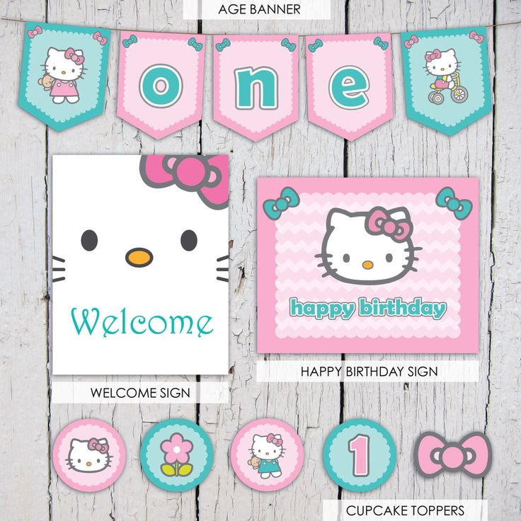 Hello Kitty Party Package, Hello Kitty Birthday Package, Hello Kitty Printable, Hello Kitty Birthday Decorations, Hello Kitty Banner by TheEdgyEnvelope on Etsy https://www.etsy.com/listing/259183206/hello-kitty-party-package-hello-kitty