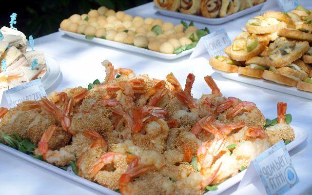 Un Battesimo in giardino: Torta e buffet dolce e salato