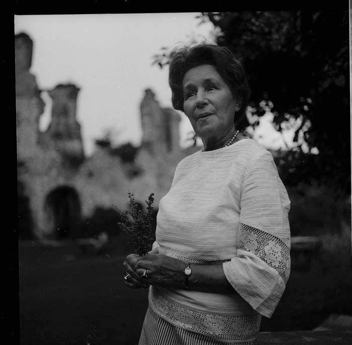 Maria Kuncewiczowa - pisarka, 1968, Kazimierz Dolny
