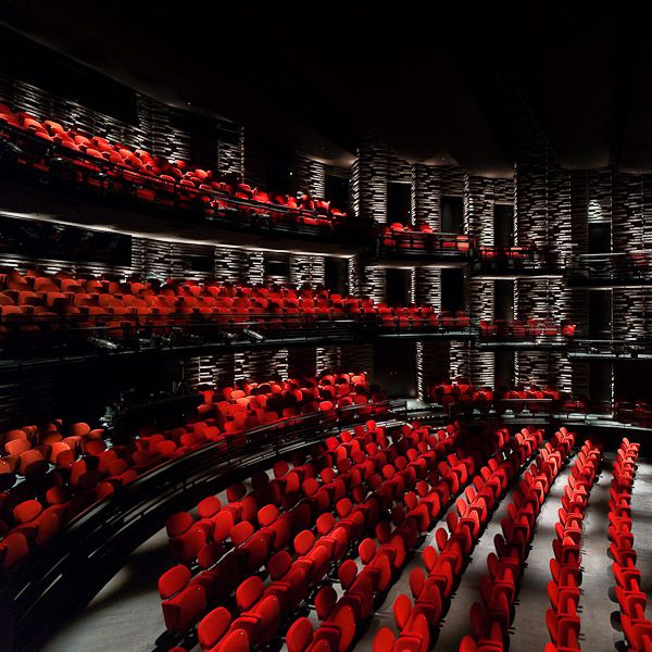 Royal Playhouse, Copenhagen. Architects: Lundgaard & Tranberg. Image by Adam Mørk.