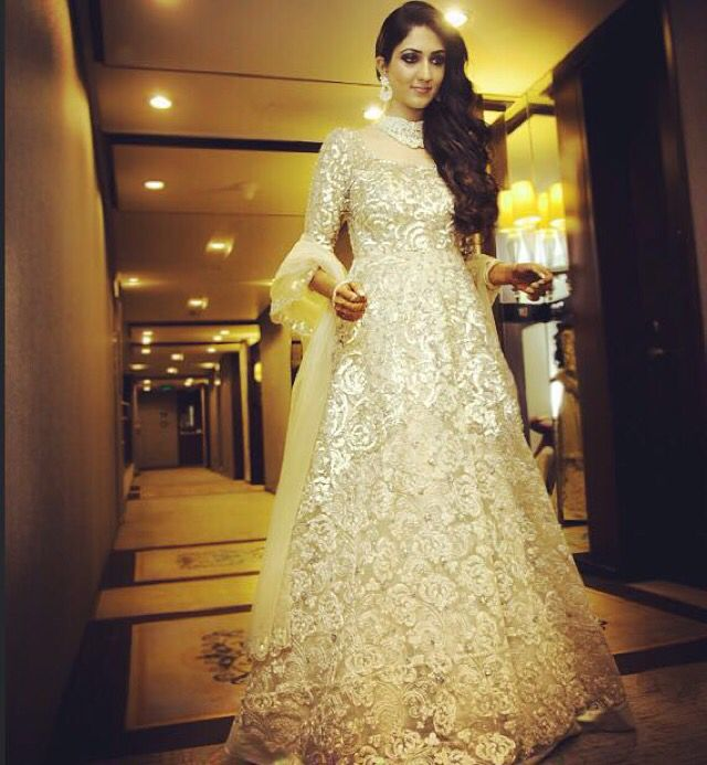 Contemporary Gowns For Indian Brides Illustration - Ball Gown ...
