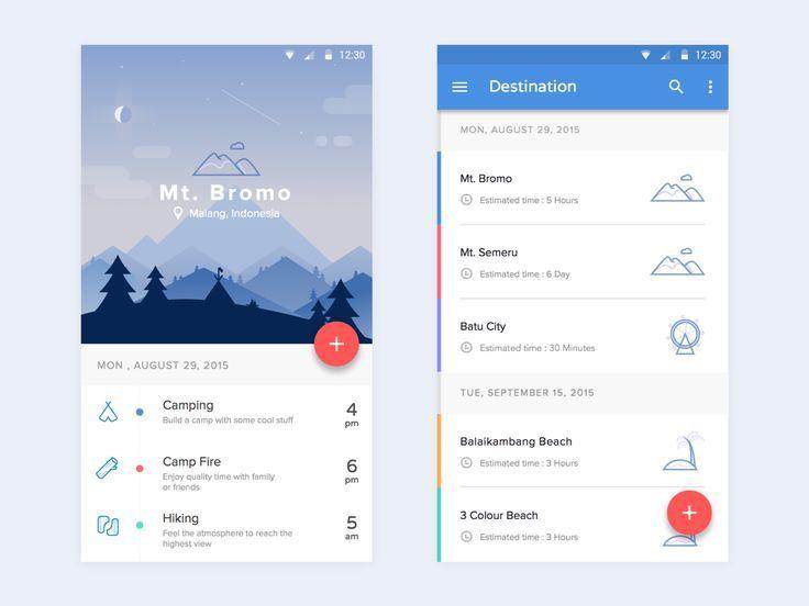 Malang Vacation App – Mobile app by Syafrizal Wardhana