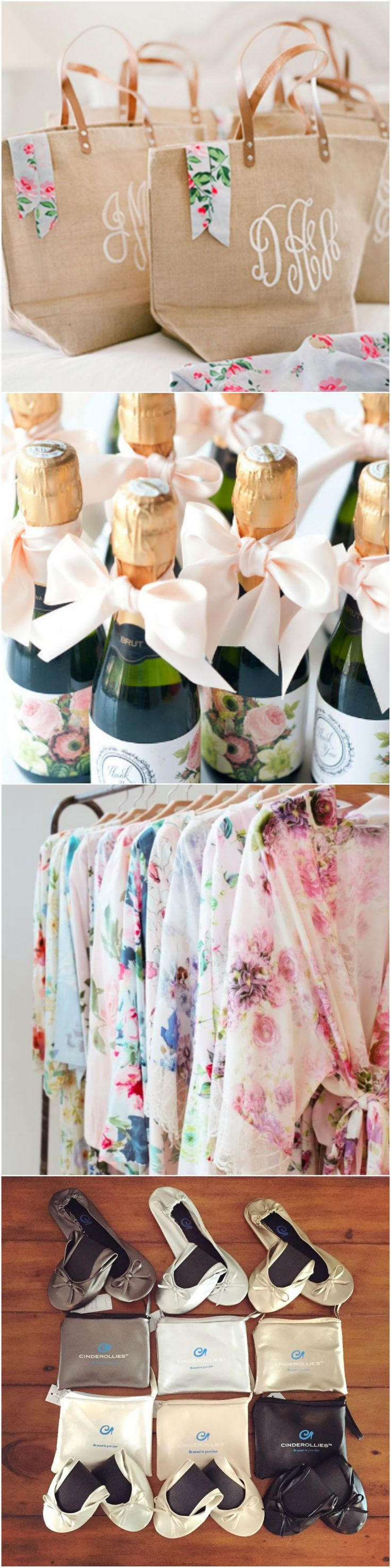 The perfect items to stuff in your bridesmaid gift bags found here!